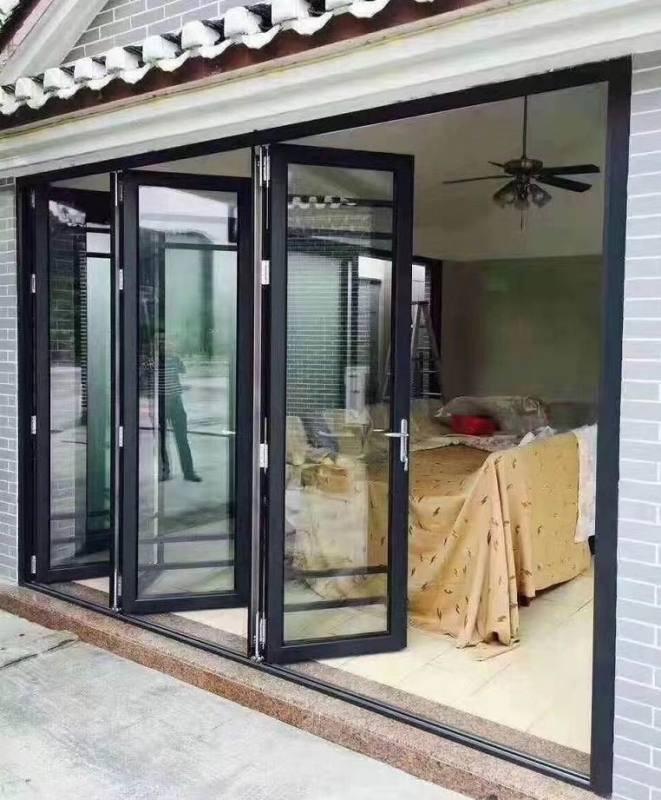 68型材2.0料摺疊門,陽臺摺疊門,別墅重型摺疊門
