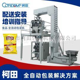 红枣干果自动称量包装机十头电子秤多功能全自动包装机