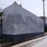 鋁單板外牆穿孔 中庭穿孔單板立體感特點