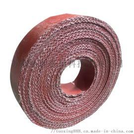 防火耐高温硅钛合金橡胶板 A级不燃暖通防火垫料