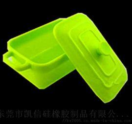 环保可折叠食用级硅胶饭盒