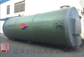 一体化污水泵站潜水泵自耦安装方式
