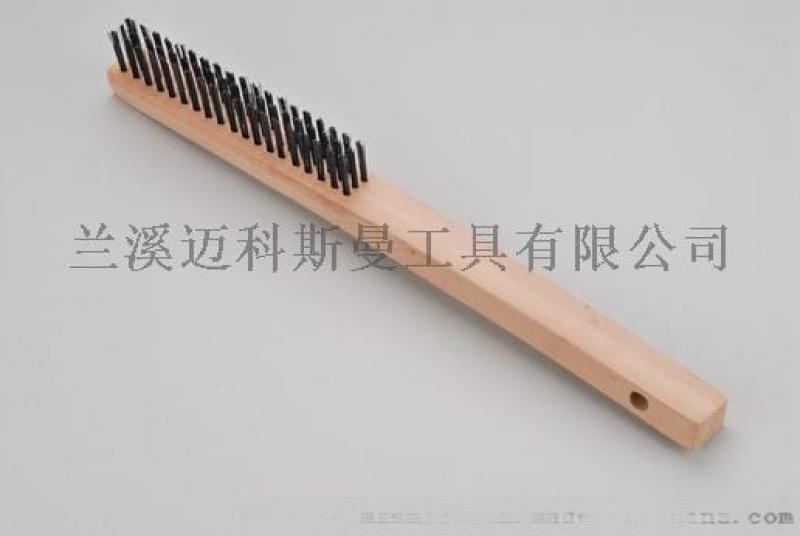 美式钢丝刷(木柄)钢丝刷