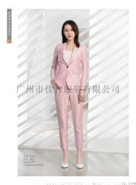 广州女士职业装工作服专业西服定制现货批发