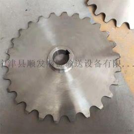 厂家直销304不锈钢链轮齿轮单排双排4分5分6分齿轮链条链轮定制