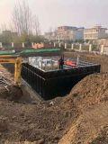 广州地埋式消防水箱的土建基础做法