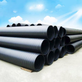 江西hdpe中空壁缠绕管厂家 双平壁a型井筒管