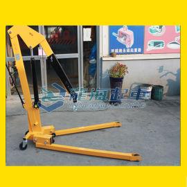 2吨欧式单臂吊,可折叠可移动液压小吊车