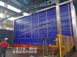 杭州市 物流通道安装硬质快速门的优势