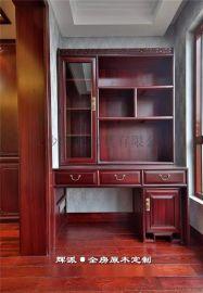 长沙整屋实木定制、实木鞋柜、隔断柜订制环保油漆