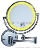 可折疊掛牆式雙面圓鏡化妝美容鏡