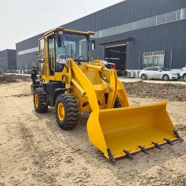 工程铲车 无极变速工程装载机 四驱轮式砂石铲运车