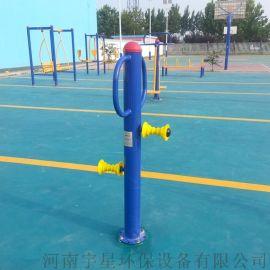 鹤壁室外健身器材厂家|广场三位扭腰器|小区设施安装