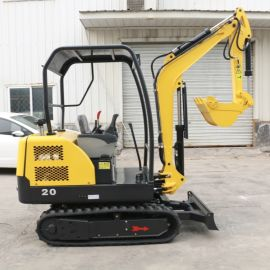 厂家直销 小型挖掘机 2吨挖掘机 园林挖土挖坑机