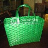 广东汕尾陆河县1608绿色塑料带 菜篮编织带