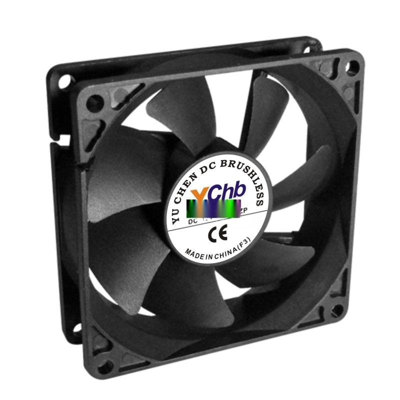 供应8020,DC12V散热风扇,直流散热风扇风机