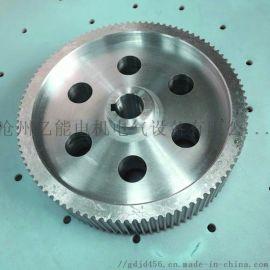 各种材质大型同步带轮铁/钢