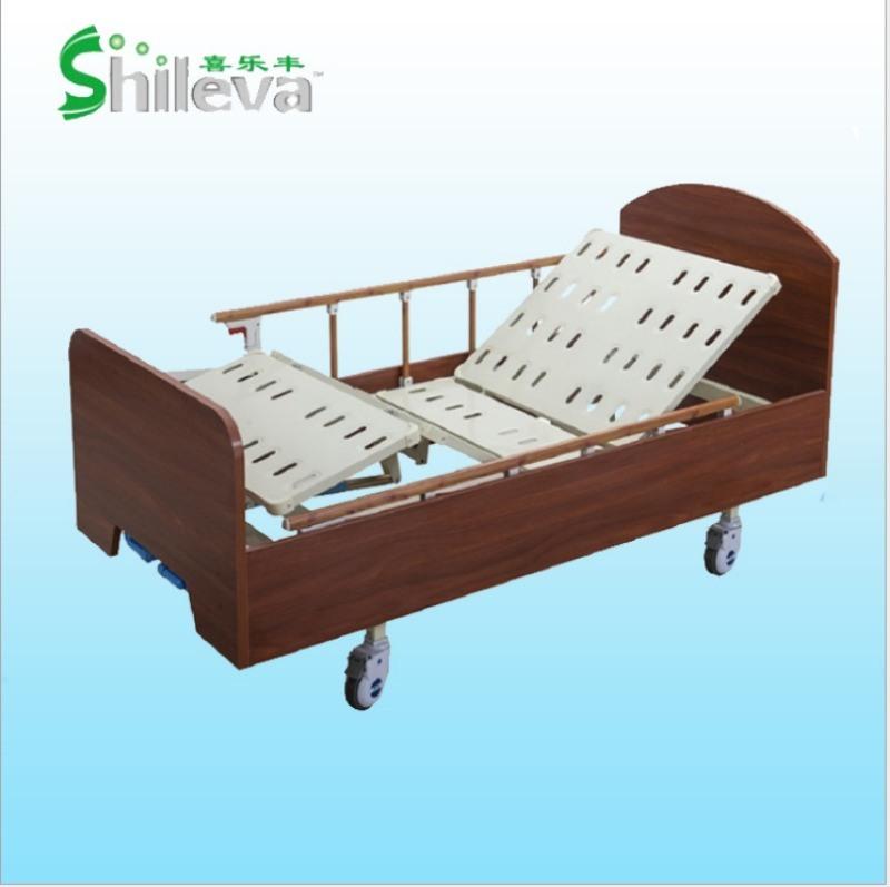 养老院护理床,多功能木质家居病床,家居床