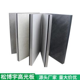 中纤板高光板 高光泽高亮度衣柜门橱柜门  PETG高光板
