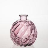 鳳梨形紅色禮品瓶250毫升空蘆葦散流器芳香油玻璃瓶