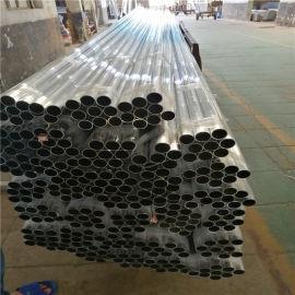 仿木纹竹节铝合金圆管吊顶 鹤岗市天花木纹铝吊顶圆管