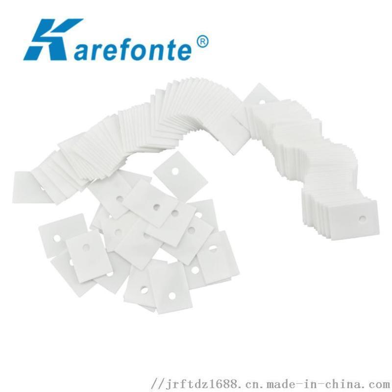 氧化铝电子陶瓷片1x20x25中间有孔氧化铝陶瓷片