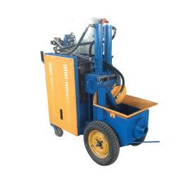 厂家批发混凝土输送泵室内上料二次构造浇灌泵