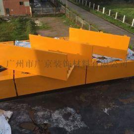 幕墙用2.0mm黄色氟碳铝单板建筑铝板