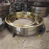 宽度150mm厚度120mm的包膜机铸钢滚圈