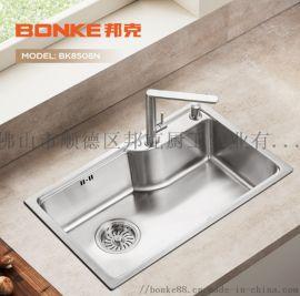 邦克BK8508N 304不锈钢纳米厨房水槽