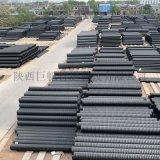 HDPE雙壁波紋管Sn8市政排水排污Sn4管廠家直銷DN200至800PE波紋管