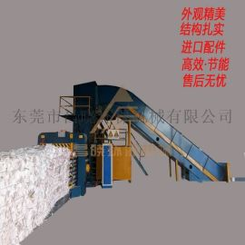 服装液压打包机 昌晓机械设备 全自动废纸打包机