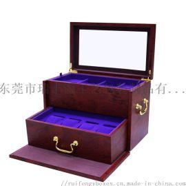 首饰盒,多层储藏,绒布/超纤维/皮料/烤漆