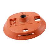 优质厂家直供,镁合金圆形电源外壳,耐用散热器外壳