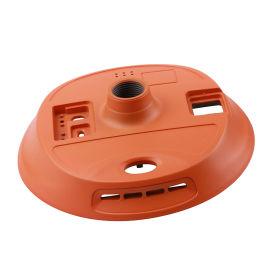 **厂家直供,镁合金圆形电源外壳,耐用散热器外壳