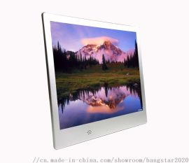 深圳工廠直銷10寸高清廣告機觸摸一體機超薄數碼相框