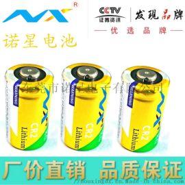 供应CR2锂电池 相机安防监控器智能锁3V电池