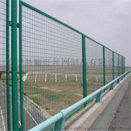 防撞护栏 电焊网护栏  勾花网护栏