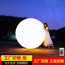 led发光球灯 户外庭院景观草坪落地灯