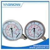 超高壓徑向壓力錶300MPA 進口軸向超高壓壓力錶