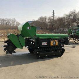 果园旋耕施肥机厂家 自走式多功能田园管理机
