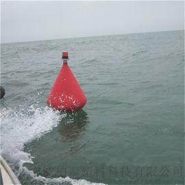 维护海洋 示航标 带灯航道 戒塑料灯塔浮标