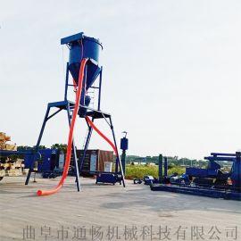 风力环保吸灰设备厂家远距离煤灰装车自动吸料机