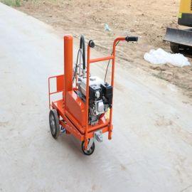 油漆划线车 马路道路划线机 小区停车位划线车