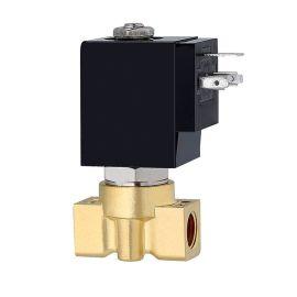进口黄铜直动式电磁阀-介质零压力启动-真空