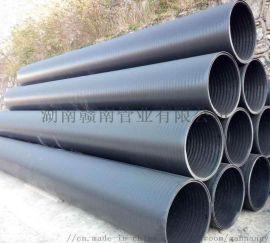 HDPE中空壁缠绕管就选湖南赣南管业好管道赣南造