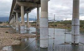 水下玻纤套筒加固系统玻璃钢套筒水下桩基墩柱加固