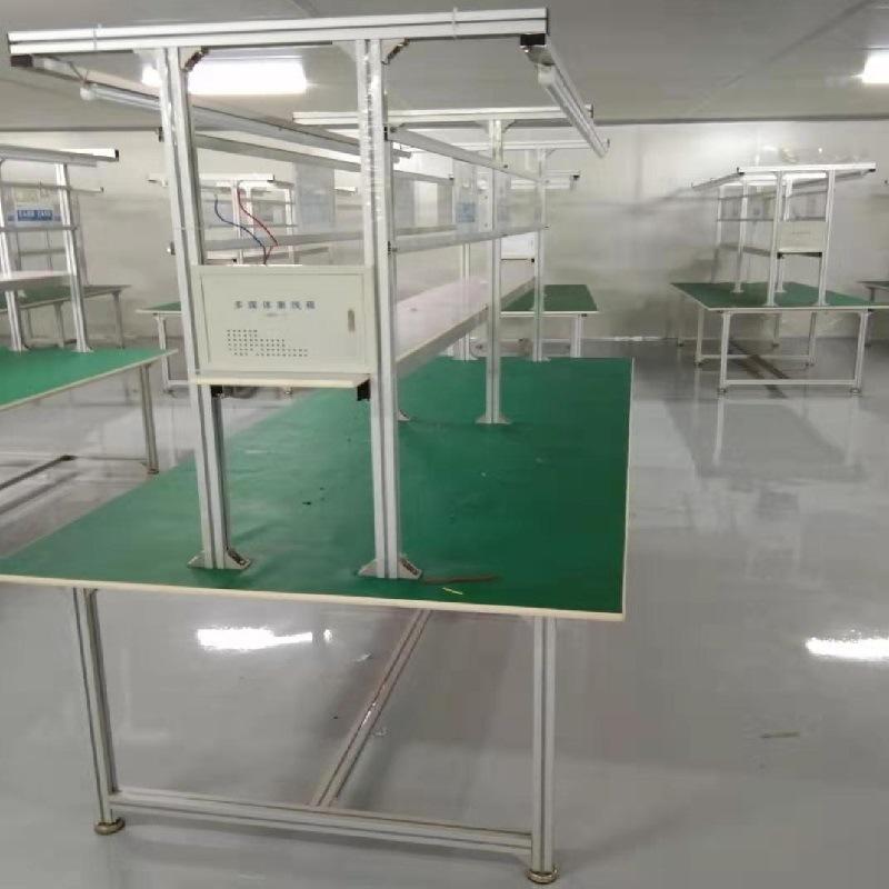 电子生产线 车间装配包装台 防静电工作台