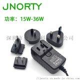 电源适配器15V2.4A 36W 可换头电源