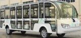 鸿畅达18座封闭全電動觀光車,景区遊覽觀光車